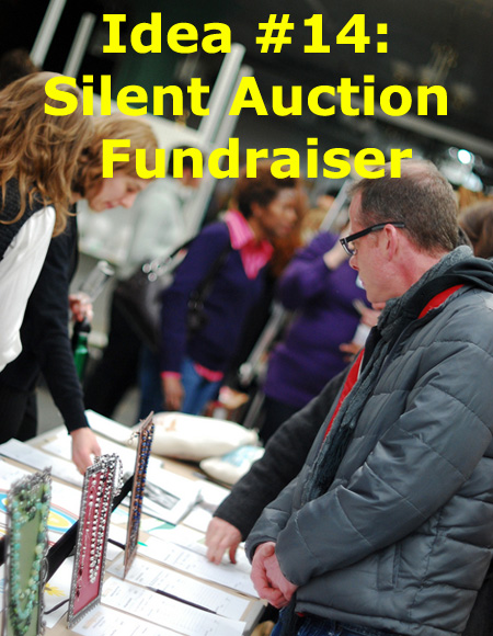 101 Awesome Fundraising Ideas!!! Number 14: The Silent Auction. (Photo by Erik Allix Rogers / Flickr)