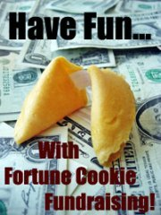 Have some fun with this cool Food Fundraiser: Fortune Cookies! (Photo by Images Money / Flickr)