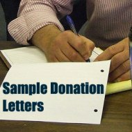Sample Letter Asking For Donations. (Photo by Bernard Pollack / Flickr)