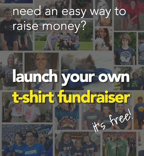 10 Super Easy Fundraising Ideas: #2 - The Online T Shirt Fundraiser! Click to get your free campaign started...