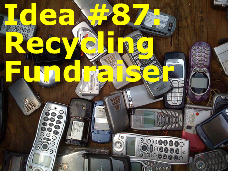 101 Profitable Fundraising Ideas! Number 87: The Recycling Fundraiser! (Photo by John C Abell / Flickr)