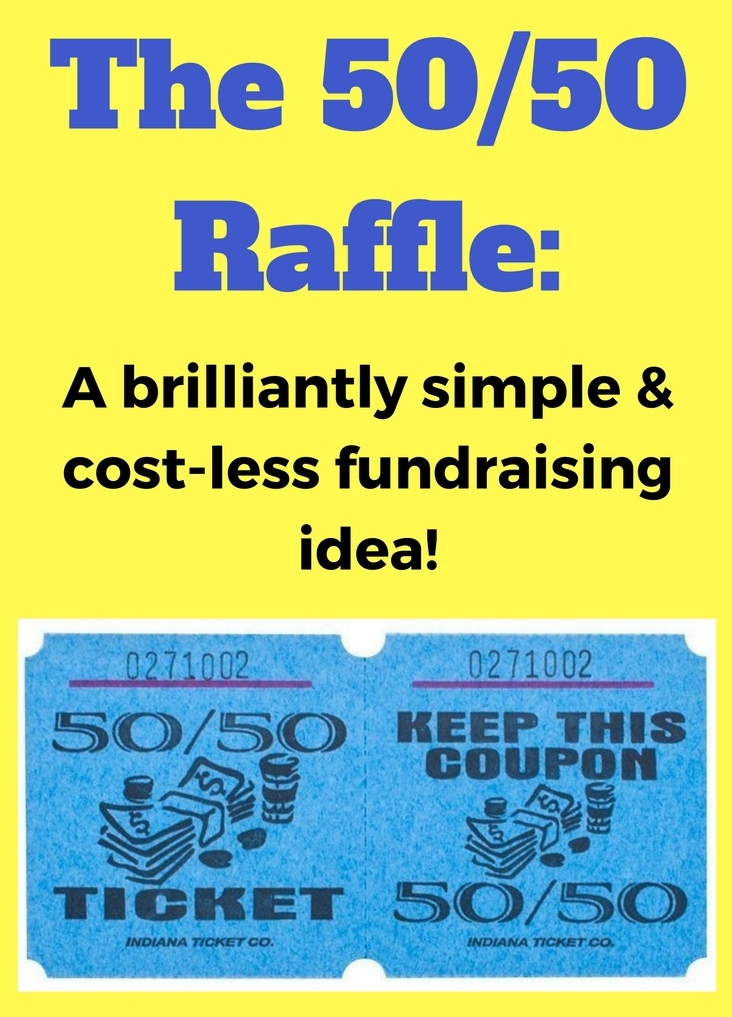 The 50/50 Raffle Fundraiser. Super simple and effective fundraising.