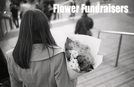 Flower Fundraising is a fundraiser that many causes use to great effect and so can you. (Photo by Bach Tran / Flickr)