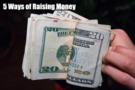 5 of the most effective ways of raising money! (Photo by Steven DePolo / Flickr)