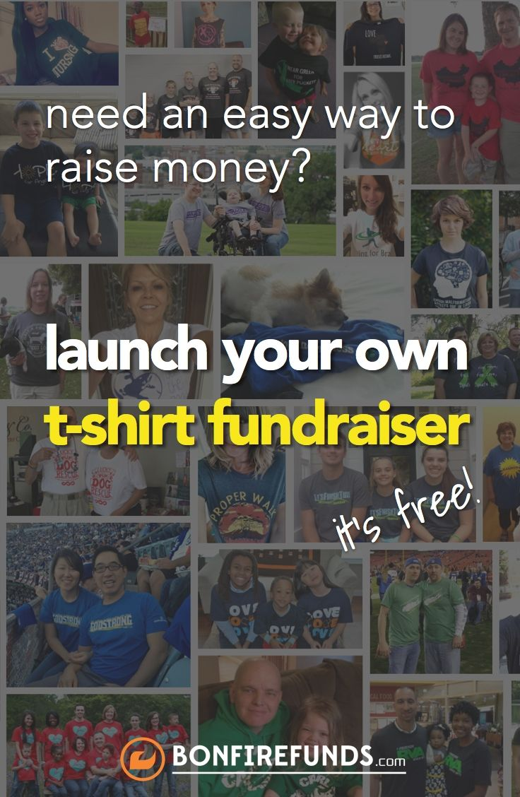 Successful Fundraising through an Online T Shirt Fundraiser!