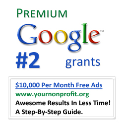 Google Grants: Up to $10,000 Per Month In Free Online Nonprofit Advertising!