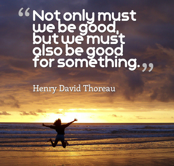 A Henry David Thoreau and other inspirational charity quotes! (Photo by Kiran Foster / Flickr)