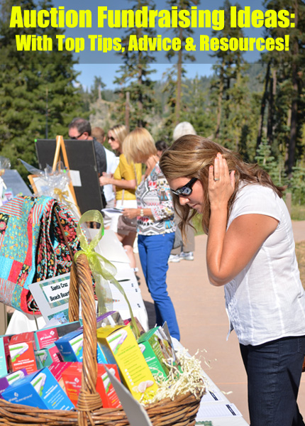 Top quality Auction fundraising ideas, tips and resources! (Photo by LassenNPS / Flickr)