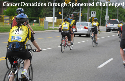 Acquiring Cancer Donations through sponsored challenges liked cycles work really well! (Photo by Commodore Gandalf Cunningham / Flickr)