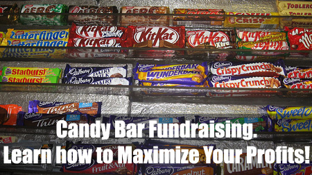 Candy Bar Fundraising: It's a popular and profitable fundraising idea. (Photo by Anthony Easton / Flickr)