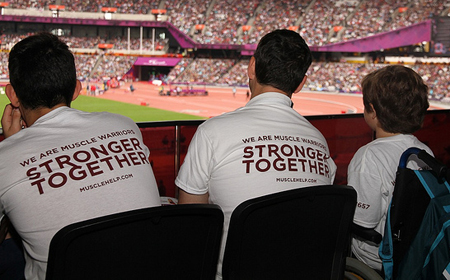 A nice example of Charity/Fundraising Apparel. (Photo by NCVO London / Flickr)