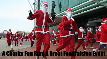 A Charity Fun Run is a great fundraising event. Learn more on Planning Charity Fundraiser Events here... ( Photo by Howard Lake off Flickr)