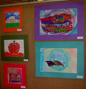 Raising Funds at a Kids Art Exhibition. It's a creative School Fundraising Idea. (Photo by Aine / Flickr)