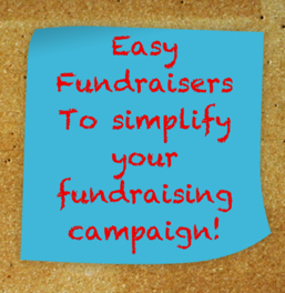 Easy Fundraisers that will simplify your fundraising campaigns!