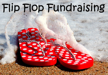 Flip Flop Fundraising. It's a unique brochure style fundraiser that holds some decent potential. (Photo by Bermi Ferrer / Flickr)
