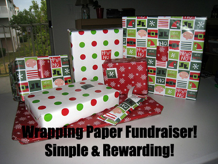 The Wrapping Paper Fundraiser is a simple and rewarding fundraising idea that can be utilized by many causes. (Photo by Katy Warner / Flickr)