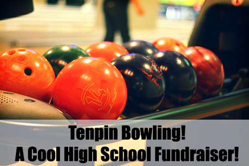 Tenpin Bowling is another really fun High School Fundraiser! For great advice on High School Fundraising read here...
