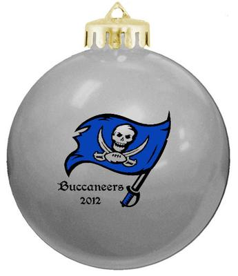 Our Buccaneer logo ornament