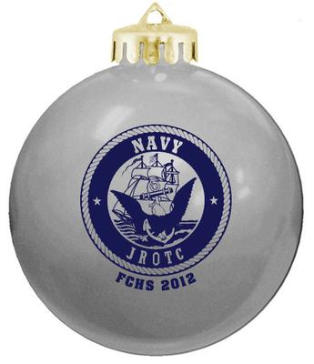 Our NJROTC ornament logo