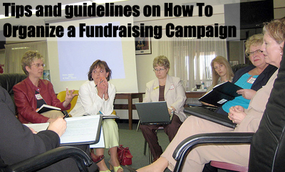 For some great tips and guidelines on How To Organize a Fundraiser Campaign... (Photo by Dean Shareski off Flickr)