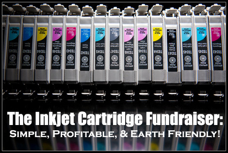 The Inkjet Cartridge Fundraiser - This brilliant fundraiser actually provides two profitable fundraising methods and is a fundraising idea that I highly recommend. (Photo by Kenny Louie / Flickr)