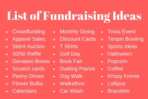 Rewarding Fundraising Ideas The Best Fundraisers Amp Tips