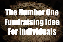 The Number 1 Fundraising Ideas For Individuals.