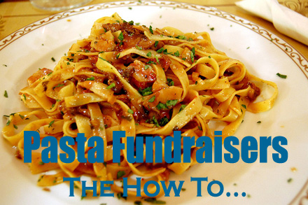 Pasta Fundraisers! The how to. (Photo by McPig / Flickr)