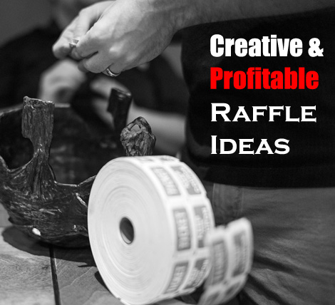 a list of some super creative and profitable raffle ideas to help you succeed with your