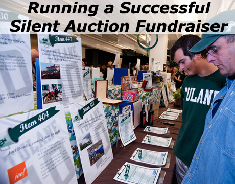 Want to learn how to run a profitable and successful Silent Auction Fundraiser?!? (Photo by Tulane Public Relations / Flickr)