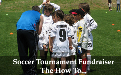 Soccer Tournament Fundraiser - The How To! (Photo by Luigi Guarino / Flickr)
