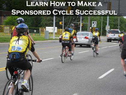 Learning how to make your DIY Fundraising Cycle successful! (Photo by Commodore Gandalf Cunningham - Flickr)