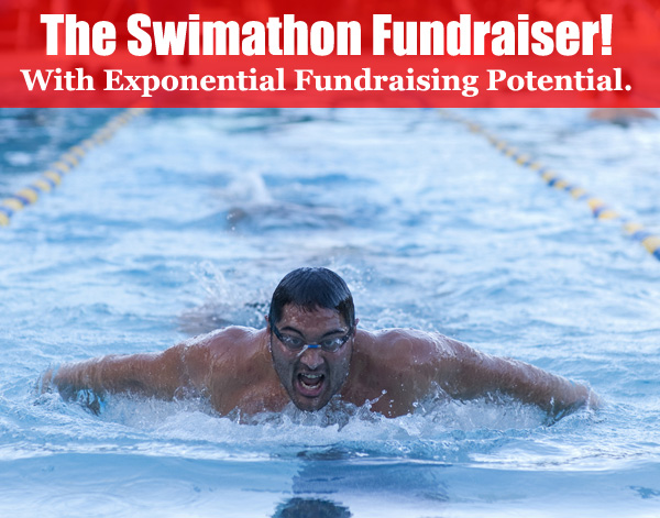 The Swimathon Fundraiser is a superb idea! And it's a part of the Pledge group of fundraising ideas that hold EXPONENTIAL FUNDRAISING POTENTIAL.(Photo by Seth Goddard / Flickr)