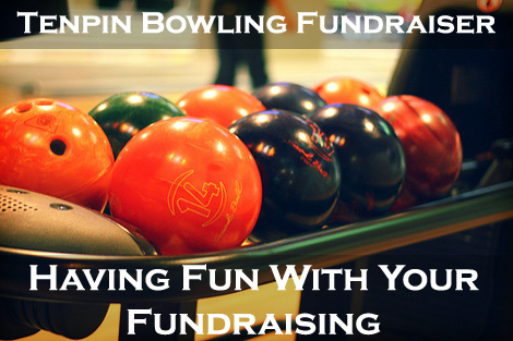 Tenpin Bowling Fundraiser Balls (Photo by Ginny / Flickr)