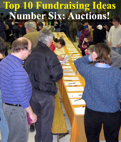 Looking for the BEST Fundraising Ideas? Well here are the Top 10 Fundraising Ideas you could use. This being number six - Auction Fundraisers. (Photo by Alan Kotok / Flickr)