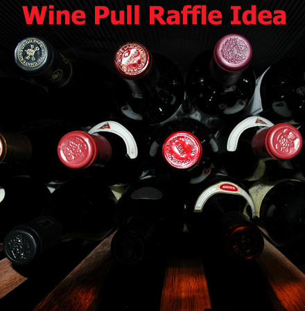The Wine Pull Fundraising Raffle! (Photo by Daniel Hansson / Flickr)