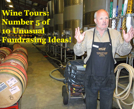 Wine Tours are another profitable fundraising idea that is quite unusual. (Photo by Roger Ward / Flickr)