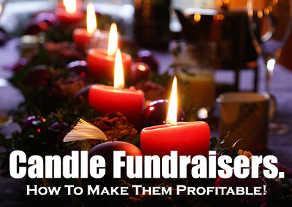 Candle Fundraisers. In demand and profitable! (Photo by Carsten Tolkmit / Flickr)