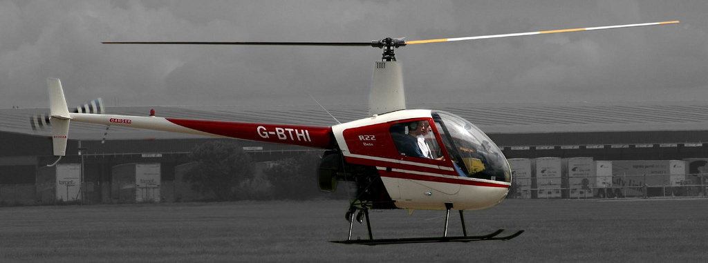 Helicopter Drop Raffle Fundraising Idea. (Photo by Keith Williams / Flickr)