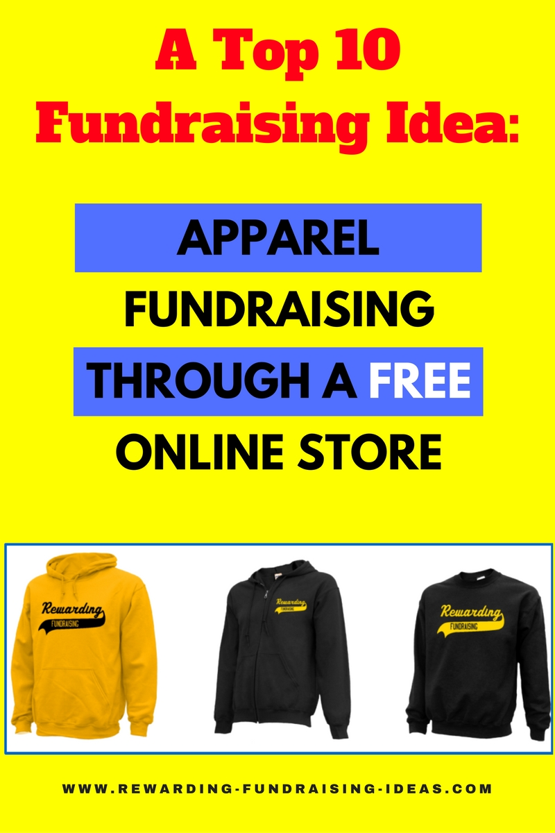 Online Apparel Fundraising - One of the top 10 fundraising ideas...