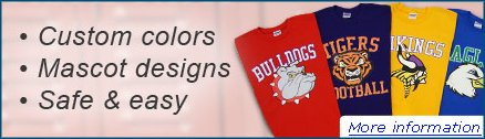 A Custom Online Apparel Store provides a FREE fundraising solution for you or your organization!