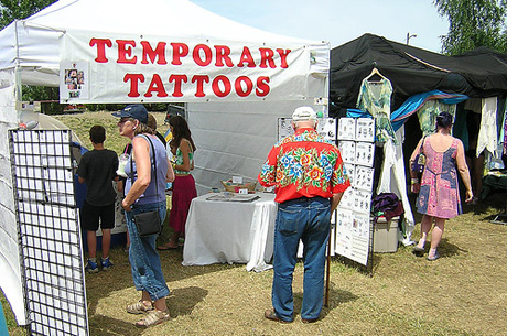 The Temporary Tattoo Fundraiser is a super Fun Idea for Schools, Churches , and any other community group. It's also pretty simple to run! (Photo by RunRun / Flickr)