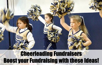Cheerleading Fundraisers. Boosting your fundraising needs! (Photo by Michael Neel / Flickr)