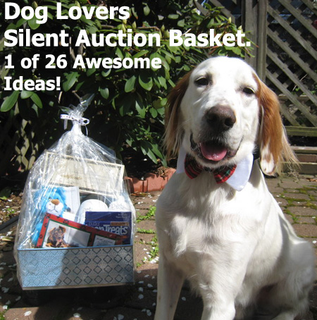 A Dog Lovers Silent Auction Basket. One of the 26 detailed Auction Gift Basket Ideas (Also find 52 idea titles for brainstorming!). (Photo by Logan Ingills / Flickr)