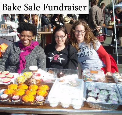 A Bake Sale Fundraiser - Contributed by Laurent (Photo by Rachel Kramer Bussel / Flickr):