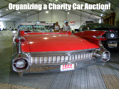 A Charity Car Auction is one tough fundraiser to organize but if done properly it will be one of the most profitable fundraisers you ever run! (Photo by Airwaves1 / Flickr)