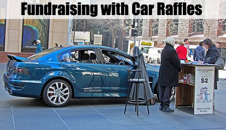 A Car Raffle is another great raffle idea that you could consider using. (Photo by Newtown Grafitti / Flickr)