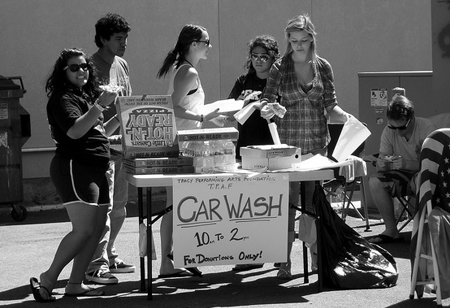 A Car Wash Fundraiser is a great idea for your PTA Fundraising. Find out more... (Photo by Dave Parker / Flickr)