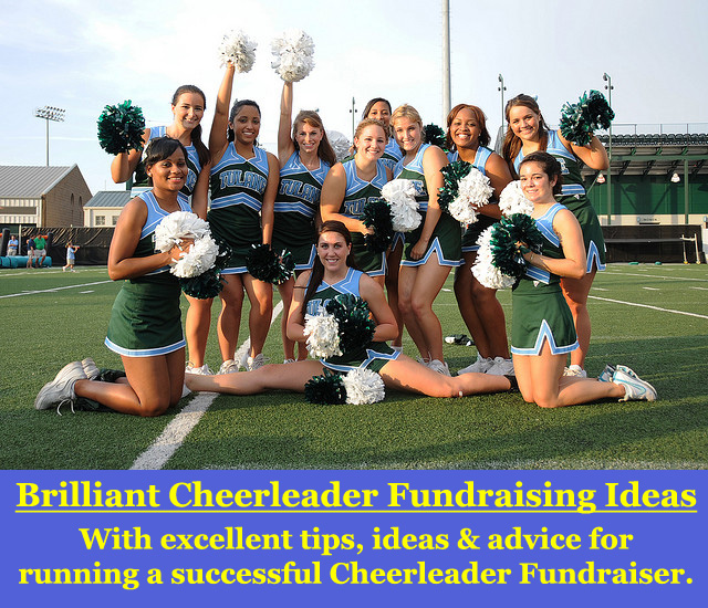 Want to learn how to have the most successful Cheerleader Fundraiser? (Photo by Tulane Public Relations / Flickr)