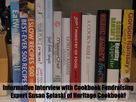 An interesting and informative interview with Cookbook Fundraising expert Susan Selaski of Heritage Cookbook. (Photo by Yortw / Flickr)